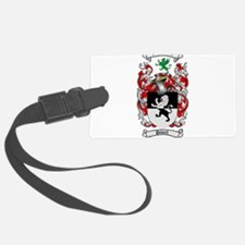 Powell Family Crest Luggage Tag
