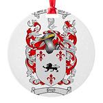 Pugh Coat of Arms Round Ornament