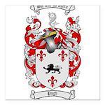 Pugh Coat of Arms Square Car Magnet 3