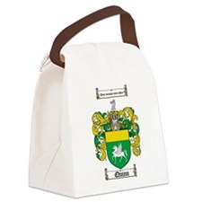 Quinn Family Crest Canvas Lunch Bag