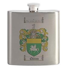 Quinn Family Crest Flask