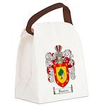 Ramirez Family Crest Canvas Lunch Bag