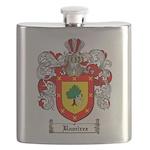 Ramirez Family Crest Flask