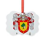 Ramirez Family Crest Picture Ornament