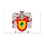 Ramirez Family Crest Rectangle Car Magnet