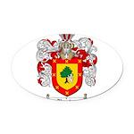 Ramirez Family Crest Oval Car Magnet