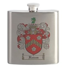 Reeves Family Crest Flask