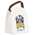 Regan Family Crest Canvas Lunch Bag