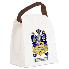 Regan Family Crest Canvas Lunch Bag