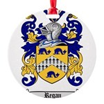 Regan Family Crest Round Ornament