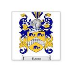 Regan Family Crest Square Sticker 3