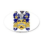 Regan Family Crest Oval Car Magnet