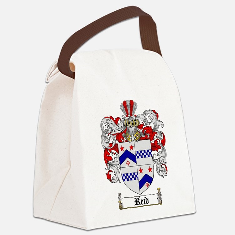 Reid Family Crest Canvas Lunch Bag