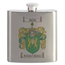 Reilly Coat of Arms Flask