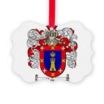 Reyes Coat of Arms Picture Ornament
