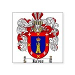 Reyes Coat of Arms Square Sticker 3