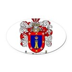 Reyes Coat of Arms Oval Car Magnet
