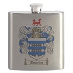 Reynolds Coat of Arms Flask