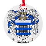 Reynolds Coat of Arms Round Ornament