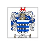 Reynolds Coat of Arms Square Sticker 3