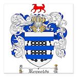 Reynolds Coat of Arms Square Car Magnet 3