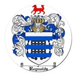 Reynolds Coat of Arms Round Car Magnet
