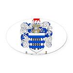 Reynolds Coat of Arms Oval Car Magnet