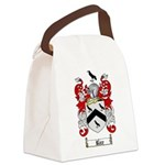 Rice Coat of Arms Canvas Lunch Bag