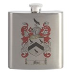 Rice Coat of Arms Flask