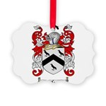Rice Coat of Arms Picture Ornament