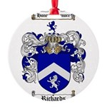 Richards Coat of Arms Round Ornament