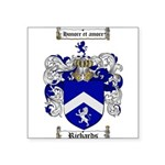 Richards Coat of Arms Square Sticker 3