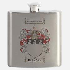 Richardson Coat of Arms Flask