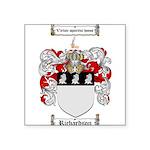 Richardson Coat of Arms Square Sticker 3
