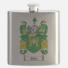 Riley Coat of Arms Flask