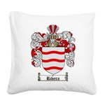 Rivera Coat of Arms Square Canvas Pillow