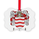 Rivera Coat of Arms Picture Ornament
