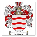 Rivera Coat of Arms Square Car Magnet 3