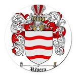 Rivera Coat of Arms Round Car Magnet