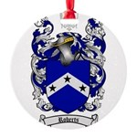 Roberts Coat of Arms Round Ornament