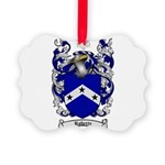 Roberts Coat of Arms Picture Ornament