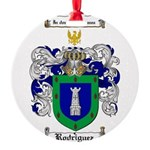 Rodriguez Coat of Arms Round Ornament