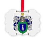Rodriguez Coat of Arms Picture Ornament