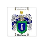 Rodriguez Coat of Arms Square Sticker 3