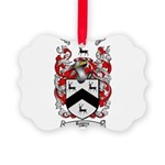 Rogers Coat of Arms Picture Ornament