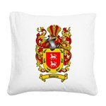 Romero Coat of Arms Square Canvas Pillow