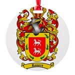 Romero Coat of Arms Round Ornament