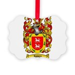Romero Coat of Arms Picture Ornament