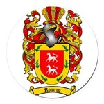 Romero Coat of Arms Round Car Magnet