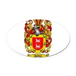 Romero Coat of Arms Oval Car Magnet